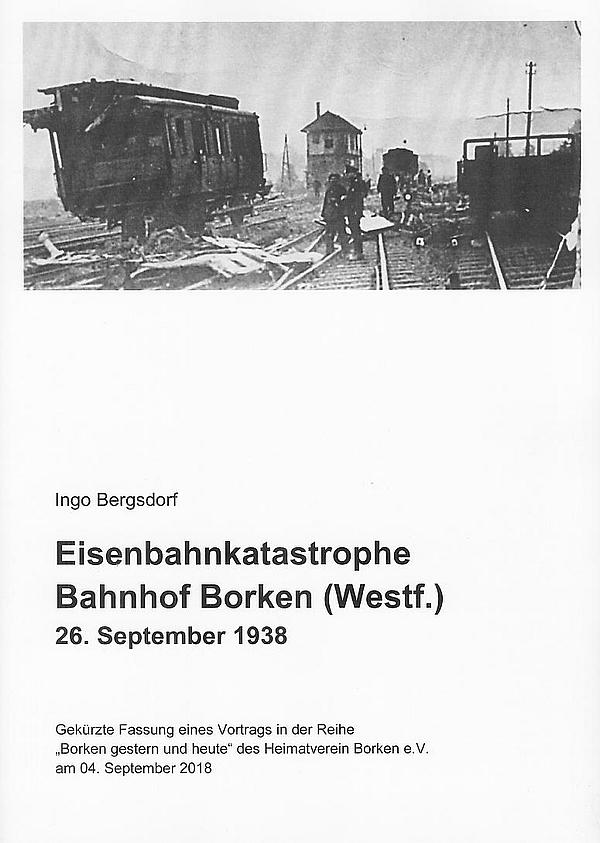 Bahnkatstrophe in Borken 1938